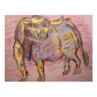 corra con los toros postal