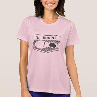 Corra la Micro-Fibra del funcionamiento del MI WMS Camiseta