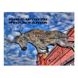 Corrales de Fort Worth: El salón del Postal