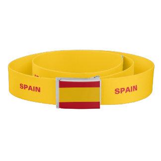 Correa de la bandera de España