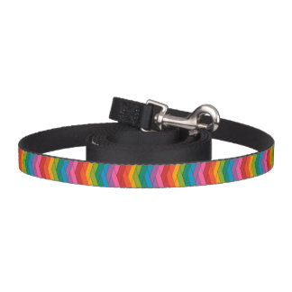 Correa de perro colorida