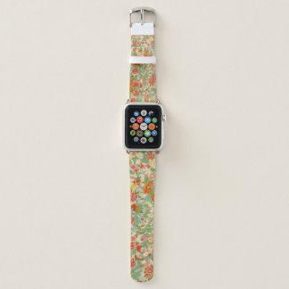 Correa de reloj floral de Apple