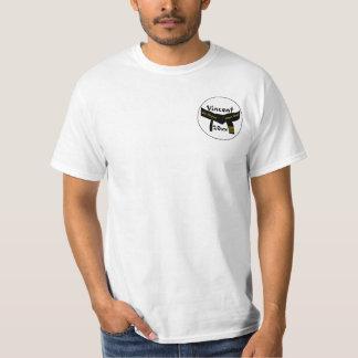 Correa negra grado personal de los artes marciales camisetas
