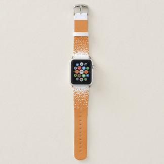 Correa Para Apple Watch ¡Aerosol del tono blanco - color de encargo de la