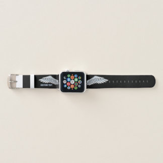 Correa Para Apple Watch alas Azul-grises