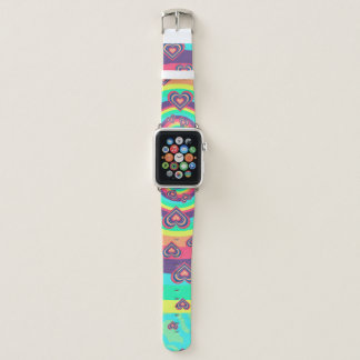Correa Para Apple Watch ¡Amor del arco iris!