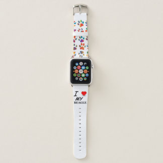 Correa Para Apple Watch amor del beagle