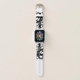 Correa Para Apple Watch Año Nuevo chino 2018 de Papercut del perro negro