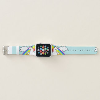 Correa Para Apple Watch Arco iris del unicornio