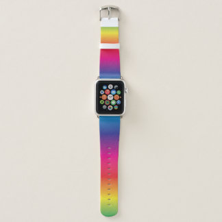 Correa Para Apple Watch Arco iris retro