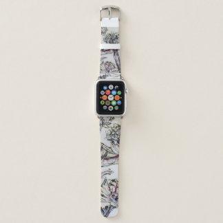 """Correa Para Apple Watch """"banda de la flor de los brittmarks """""""
