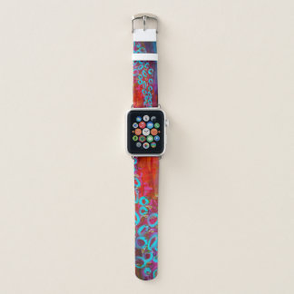 "Correa Para Apple Watch ""Banda de reloj del fiesta I"" Apple de la lluvia"