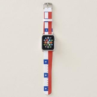Correa Para Apple Watch Bandera de Chile