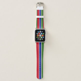 Correa Para Apple Watch Bandera de Gambia