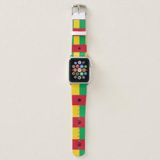 Correa Para Apple Watch Bandera de Guinea-Bissau