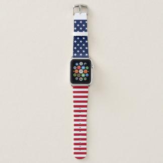 Correa Para Apple Watch Bandera de los E.E.U.U.