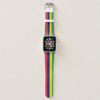 Correa Para Apple Watch Bandera de Mauricio