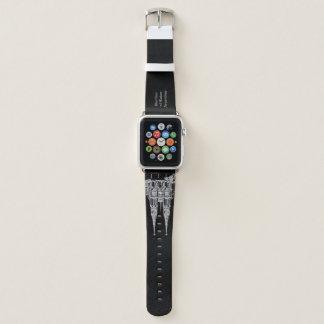 Correa Para Apple Watch Basilica of Lujan (Pencil design. In Dark)