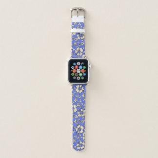 Correa Para Apple Watch Bígaro floral del hibisco hawaiano de Malia