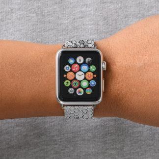 Correa Para Apple Watch Blanco del reptil