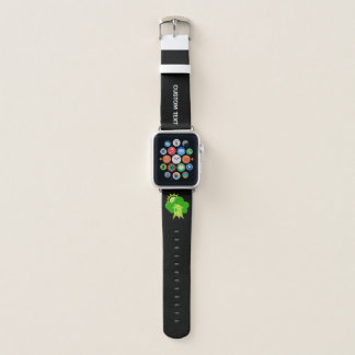 Correa Para Apple Watch Casa verde