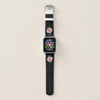 Correa Para Apple Watch Color de rosa rosado