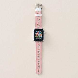Correa Para Apple Watch Color de rosa rosado del vintage