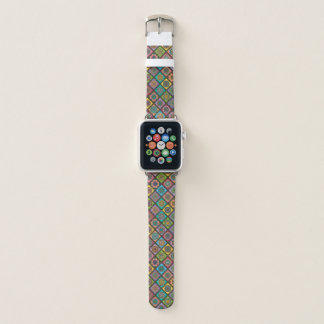 Correa Para Apple Watch Coloree pequeño diagonal de la mandala de la abeja