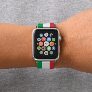 Correa Para Apple Watch Colores de la bandera de Italia