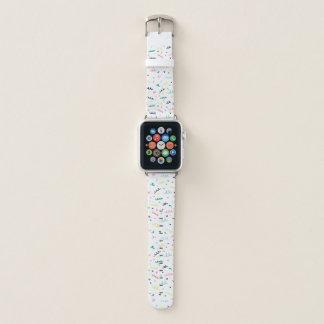 Correa Para Apple Watch Confeti de Memphis