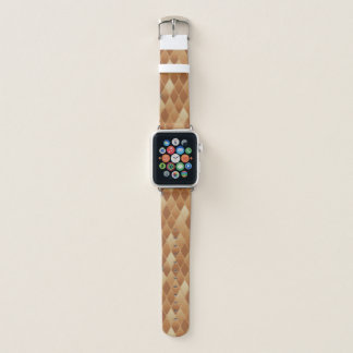 Correa Para Apple Watch Diamantes coloreados oro