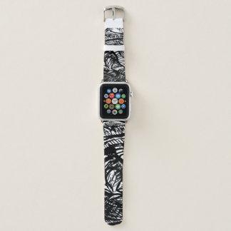 Correa Para Apple Watch Diseño del primer del dibujo de la tinta de la