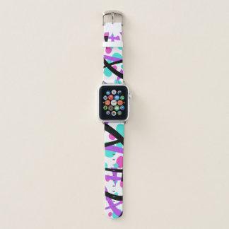 Correa Para Apple Watch Diseño retro elegante -