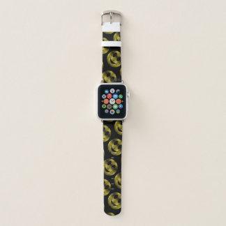 Correa Para Apple Watch El oro amarillo sonriente brillante chispea modelo