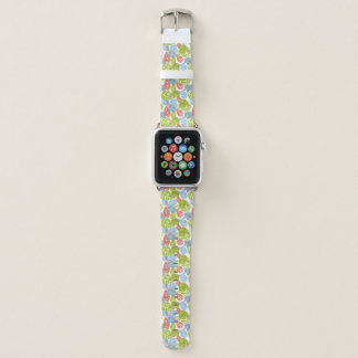 Correa Para Apple Watch Elefantes coloridos de la selva