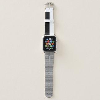 Correa Para Apple Watch Espada negra y blanca personalizada de los