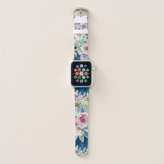 Correa Para Apple Watch Estampado de flores colorido TAN DELICIOSO de Boho