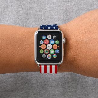 Correa Para Apple Watch Estilo Estrella-Spangled