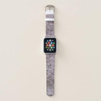 Correa Para Apple Watch Estructura áspera cruda de Beton