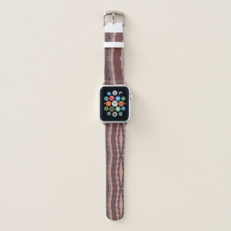 Correa Para Apple Watch Extracto rosado 2 del color de malva y de Borgoña