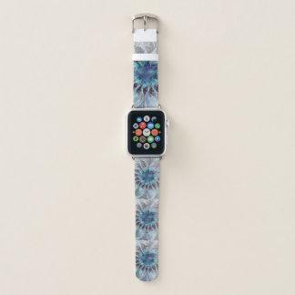 Correa Para Apple Watch Flor moderna abstracta del fractal del Flourish