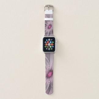 Correa Para Apple Watch Flor rosada que espera un arte del fractal del