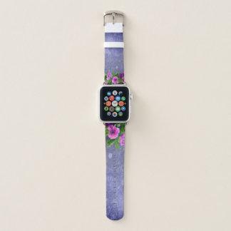 Correa Para Apple Watch Flores azules - Apple mira