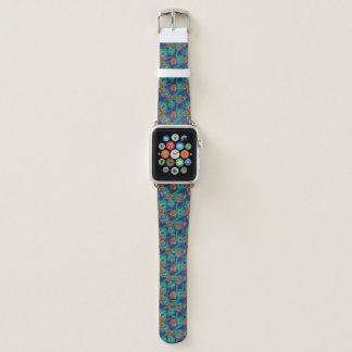 Correa Para Apple Watch Flores y plumas