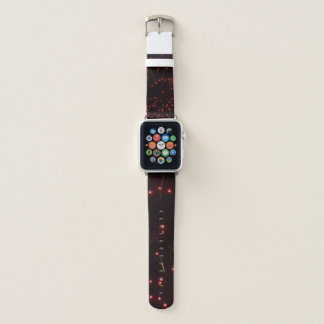 Correa Para Apple Watch Fuegos artificiales rojos