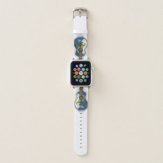 Correa Para Apple Watch Guitarra 38m m