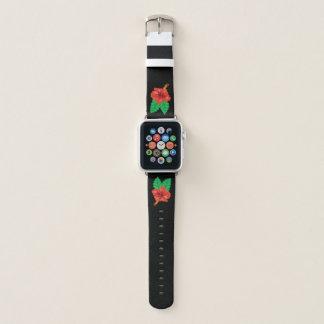 Correa Para Apple Watch Hibisco tropical