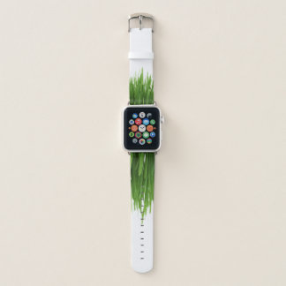 Correa Para Apple Watch Hierba al aire libre verde fresca del verano de la
