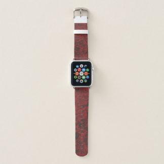 Correa Para Apple Watch Impresión floral roja