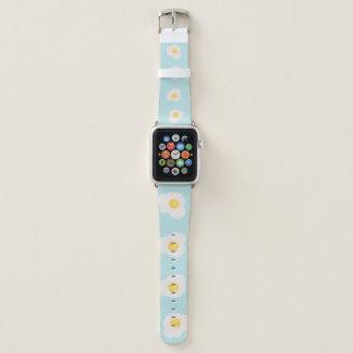 Correa Para Apple Watch Impresión inconsútil de huevos revueltos